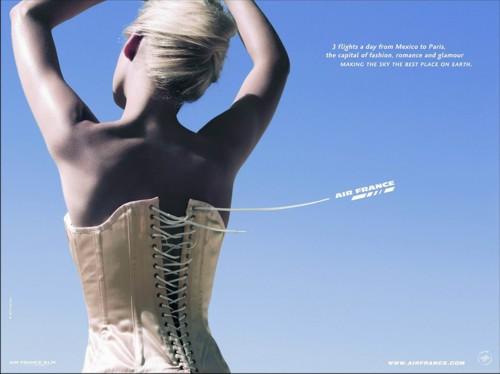 Рекламная кампания для Air France от BETC Euro RSCG