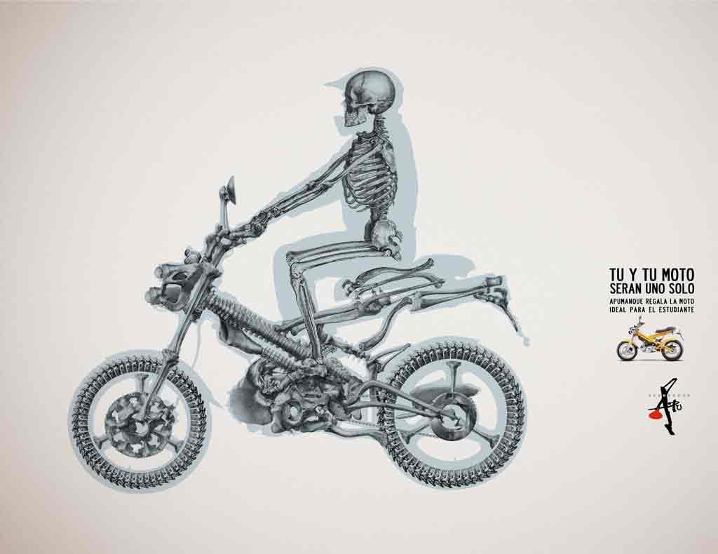Мотоцикл apumanque и вы это одно целое