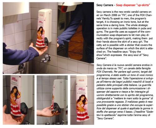 Рекламная кампания от AM-NEWTON21 для эротического шоу Sexy Camera