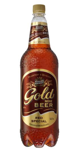 Gold mine Beer Red Special