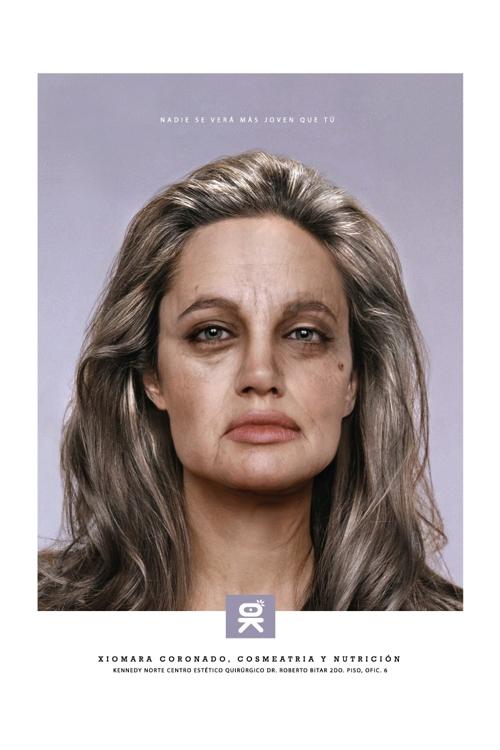 Принт от Koenig & Partners для Xiomara Coronado Beauty Center