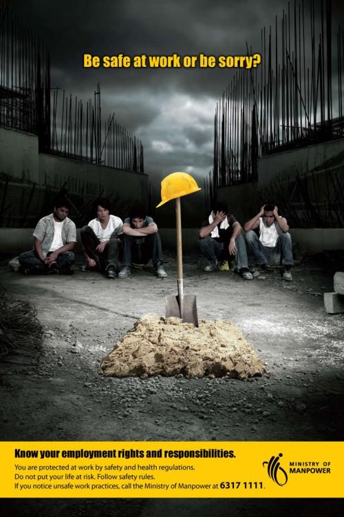 Реклама для социальной службы Ministry of Manpower от CreAds Advertising