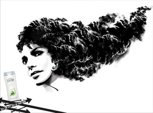 Рекламная кампания для Сlear vita ABE от Lowe