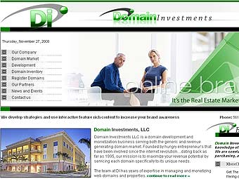 �������� ����� Domain Investments