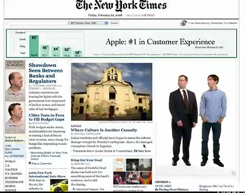 ������ Apple �� ����� New York Times