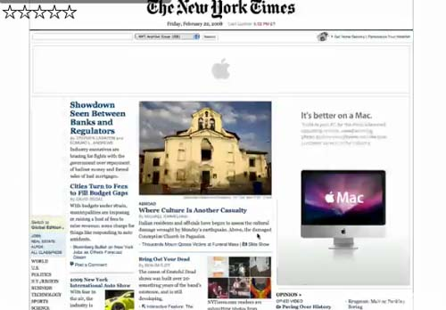 ������ Apple �� ����� New York Times, ��������� ������