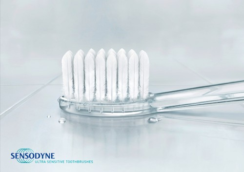 Sensodyne, Grey Worldwide Dusseldorf, Germany , зубные щетки