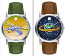 Художественные часы от Movado: Фото 1.