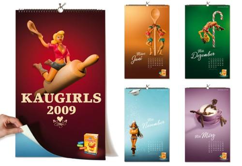 Календари настенные дизайны
