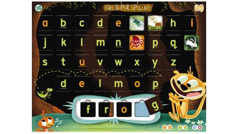 Ещё за $11 можно купить такую вот интерактивную азбуку, позволяющую играть в интерактивные игры и составлять более 300 слов (из трёх и четырёх букв) (иллюстрация LeapFrog).