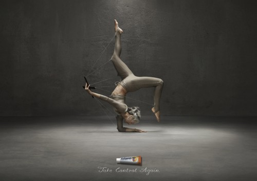 Рекламная кампания для Вольтарен (Voltaren) - Novartis International AG от Saatchi & Saatchi, 2009