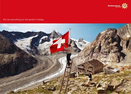 Рекламная кампания ассоциации швейцарского туризма