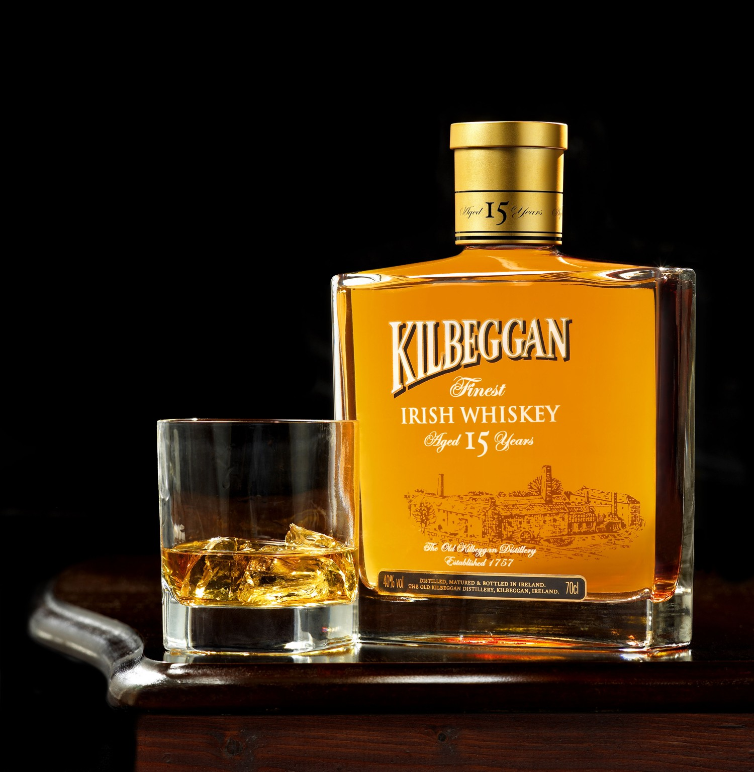 Ирландский бренд виски Kilbeggan