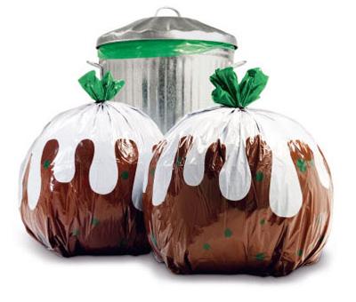 Прикольные и необычные пакеты для мусора.