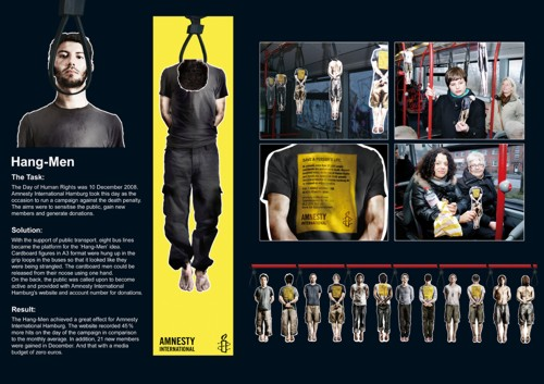 Tribal DDB для Amnesty International