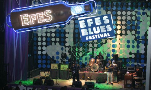 Фото с фестиваля Efes Blues Festival