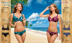 Каталог купальников swimwear collection 2010 компании Tribuna