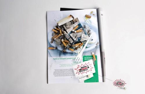 кампания Saatchi & Saatchi  для размещения в журналах и газетах