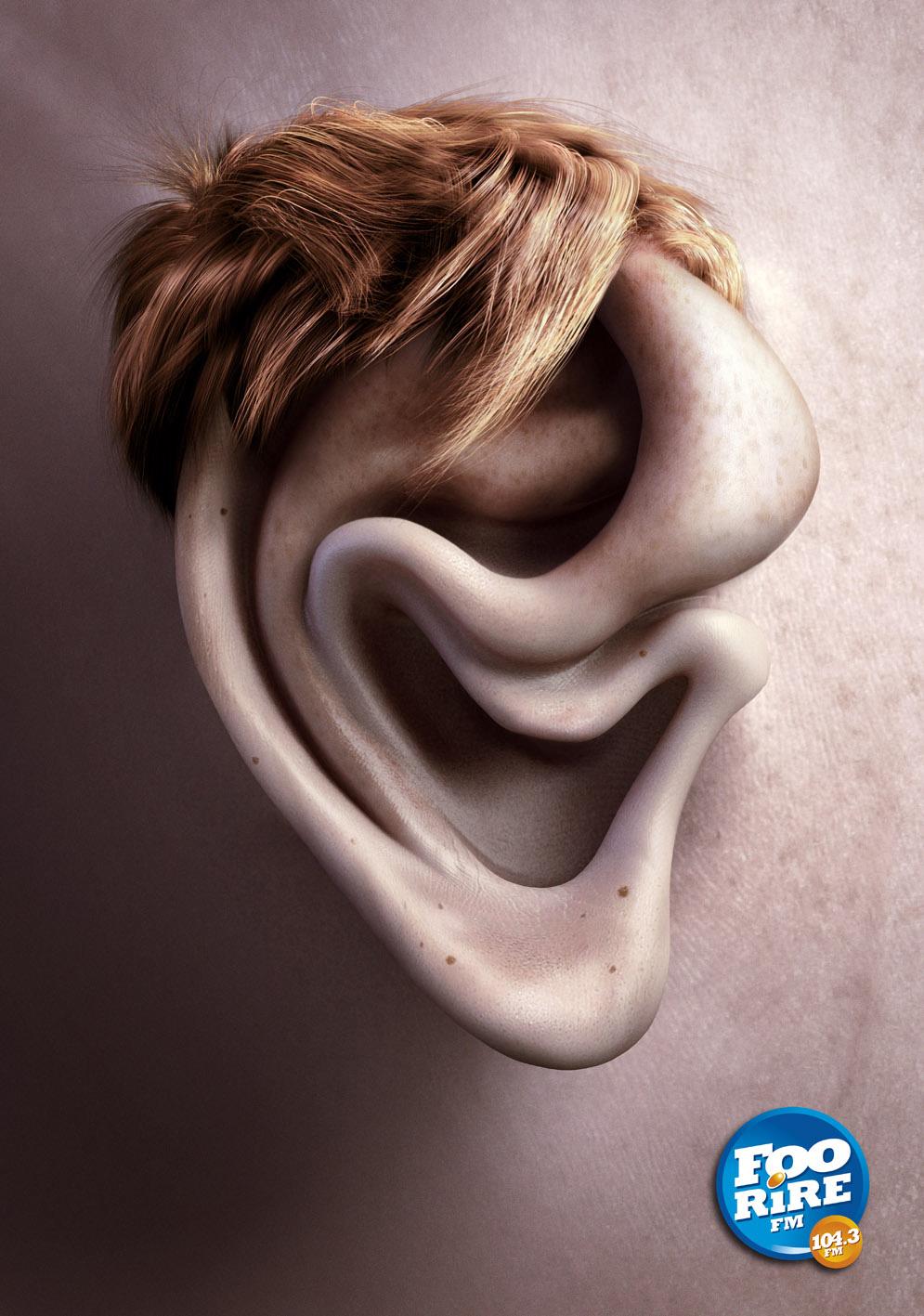 Картинка прикольных ушей