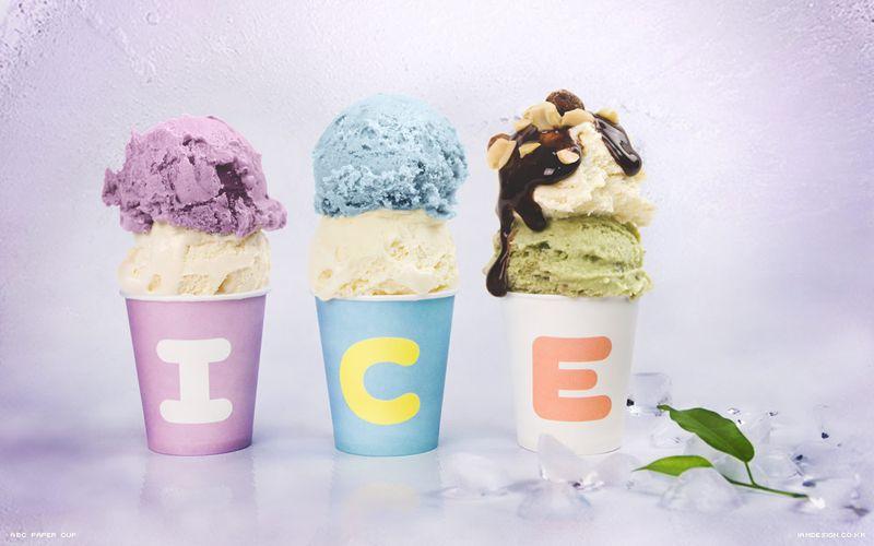 Как сделать мороженое в стаканчиках