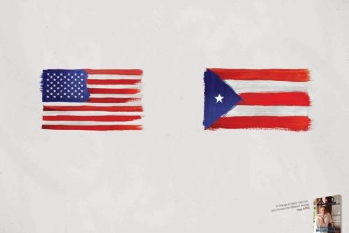 Декор превращает США в Пуэрто-Рико