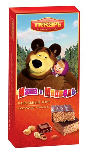 """Упаковка товара:  """"Маша и медведь """" - теперь в 3D"""