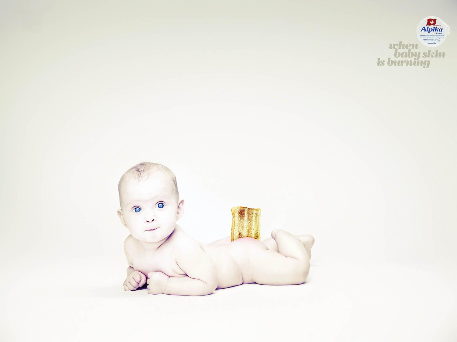 Детские картинки в рекламе