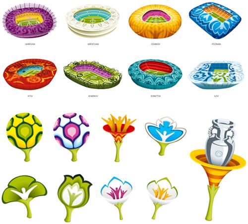 Фирменный стиль Евро-2012 / Designers.dp.ua.
