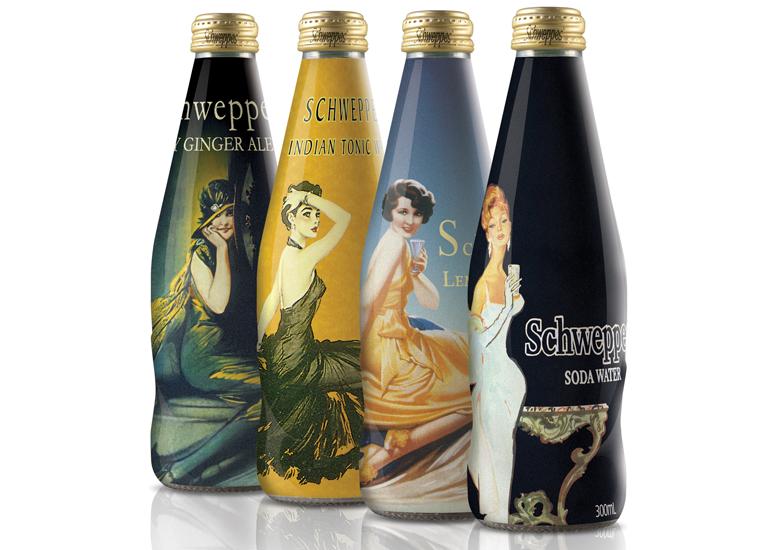 Линейка продуктов Schweppes в новой упаковке включает...