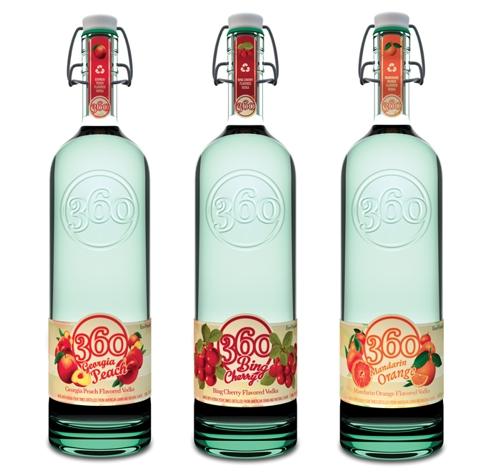 Исключительно экологичная Vodka 360