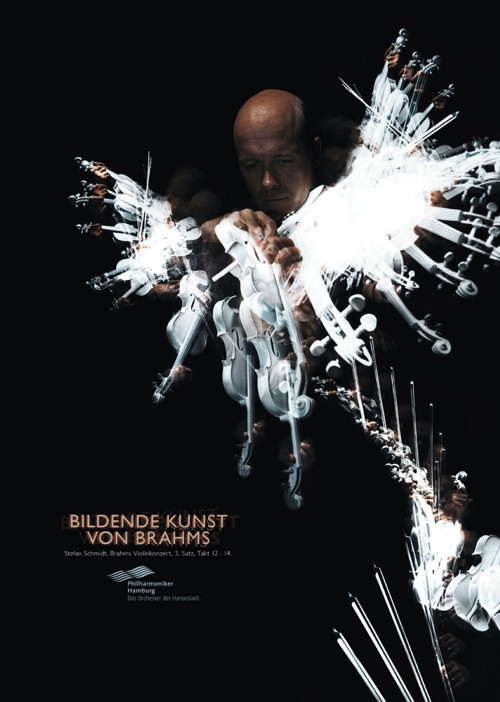 Реклама Гамбургского филармонического оркестра