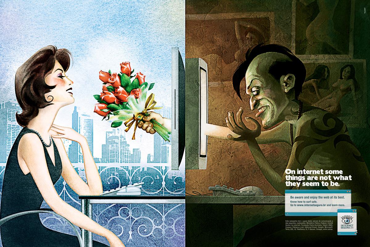 Знакомства Через Интернет Чем Это Опасно