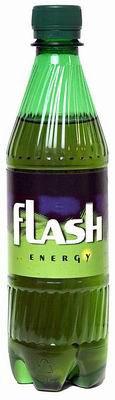 Не пиво.  Flash - безалкогольный энергетический напиток классического...