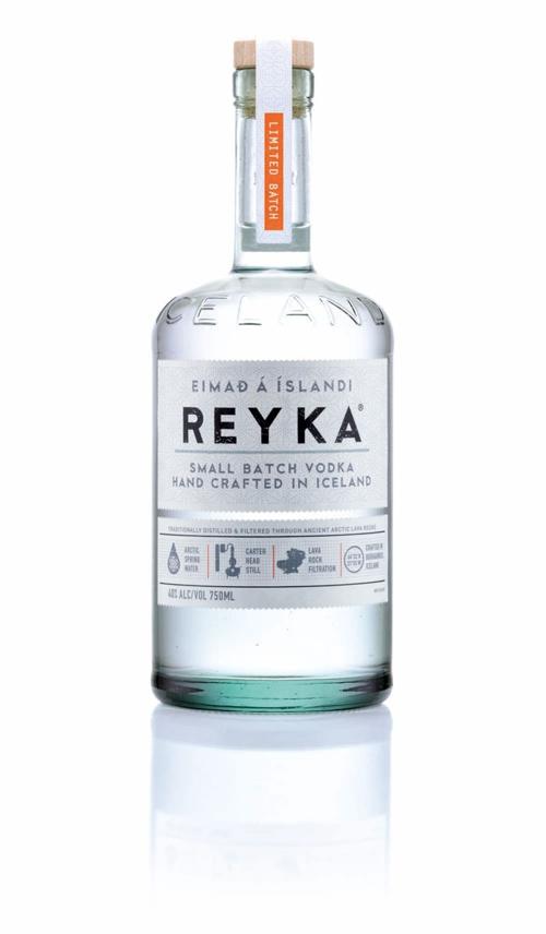 Исландская водка Reyka сменила дизайн