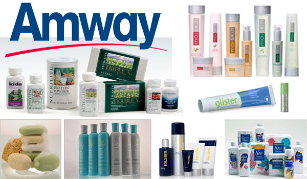 amway product catalogue