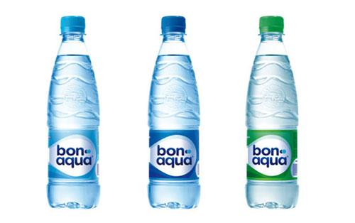 bonaqua новый дизайн бутылок бонаква логотип