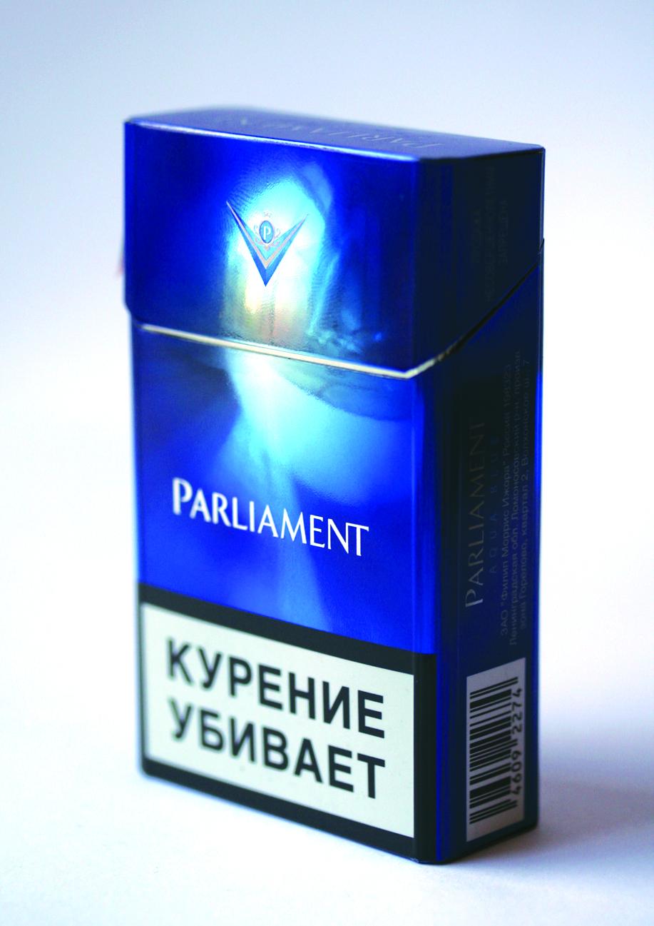 купить сигареты парламент аква блю москва