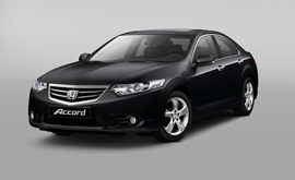 Honda Accord, фото с сайта honda.co.ru