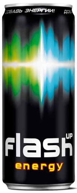 """Flash Up вышел в новой упаковке Энергетический напиток от  """"Балтики..."""