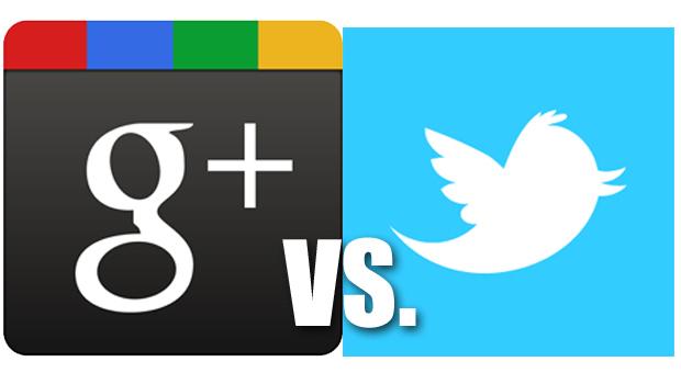Google± против Twitter