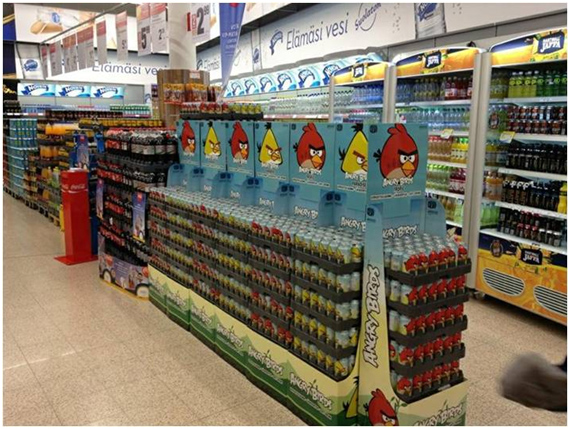 Angry Birds Tropic Cola - уже в России!