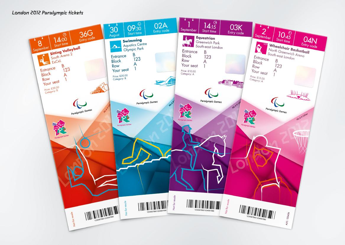 Дизайн билета на фестиваль