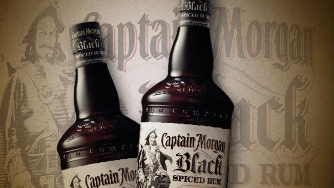Популярный ром Captain Morgan