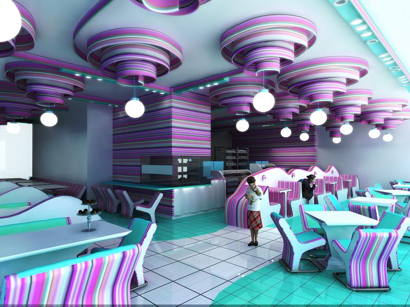 Дизайн детского ресторана