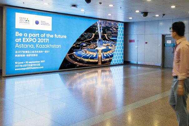Дизайн и реклама в аэропортах