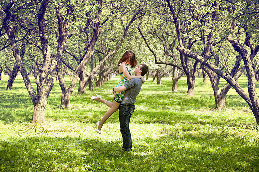 Аллея любви в коломенском фото