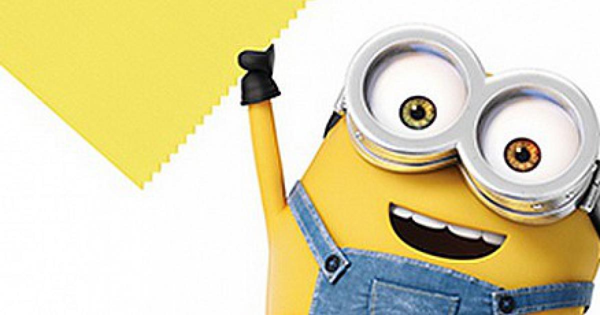 Pantone создал цвет «Желтый Миньон