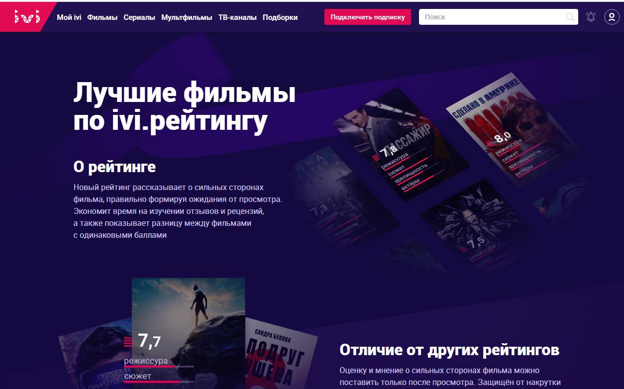 онлайн кинотеатр Ivi анонсировал редизайн и запуск новых