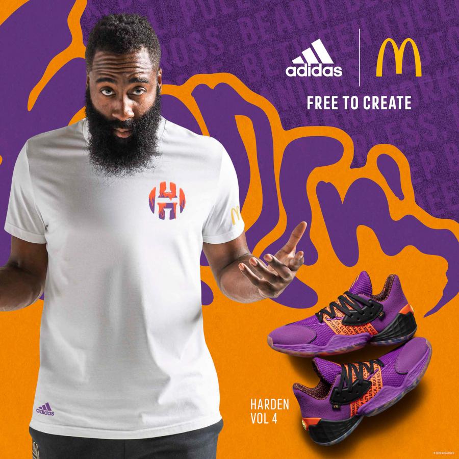 Еда и баскетбол: adidas выпустил коллаборацию с McDonald's